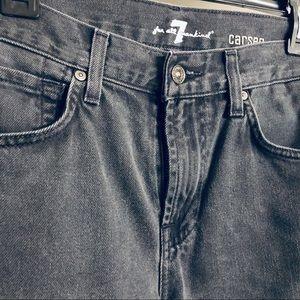 Carsen Straight Leg Dark Grey Jeans